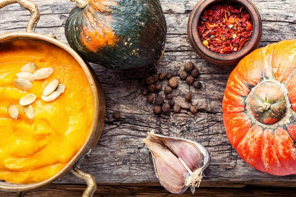 hokkaido, tekvicová polievka, polievka, antónia mačingová, ľahké chudnutie